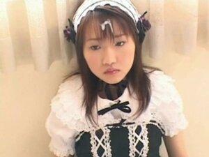 Bukkake - Weird JAV-Girl Acts Like A Doll