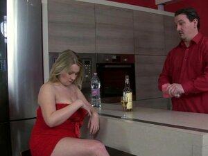 Fat girl in red dress wants to bone