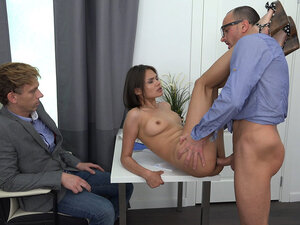 Yan & Jeff & Jade in Fucked By The Husband&S Boss