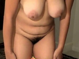 Hairy mature big clit
