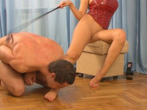 Russian-Mistress Video: Anna, Beautiful mistress
