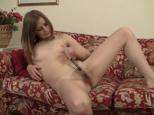 Crazy pornstar in amazing solo girl, hairy sex