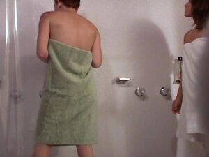 Voyeur girls taking shower, Hot looking voyeur