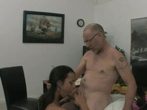 Cute young slut gets fucked by her older boss on