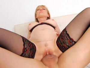 rides cock as a cowgirl