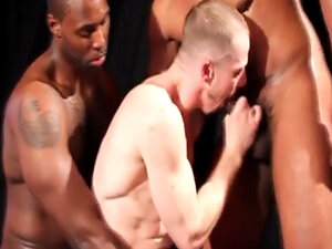 Interracial military studs play vanilla ass