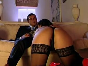 Spanish sex in a corset and nylons, Gorgeus