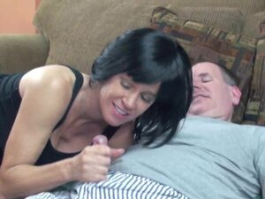 Brunette MILF Melissa Swallows is getting fucked,
