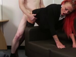 CFNM mistress giving a sympathy fuck