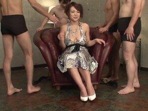 Reiko Nakamori Takes Dicks During Interview