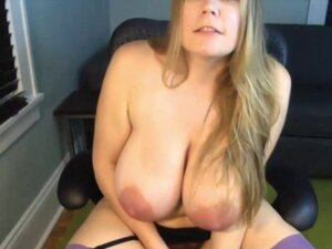 Mom Zora with unreal lactating tits