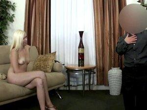 Midget licks euro models pussy during casting