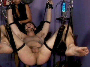 Blonde milf Mistress Nicolette dominating over her