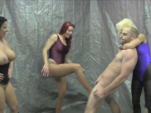 Ballbusting Cum Class with Kenna Valentina, JC