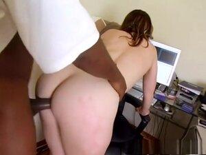 Best pornstar in incredible brunette, interracial