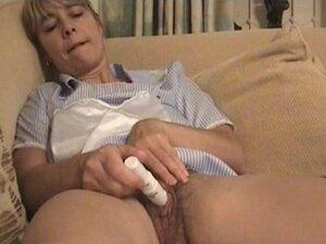 Hairy Wet MILF's Pussy Pulsating Orgasms