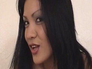 Dominant Asian mistress handjob blowjob combo