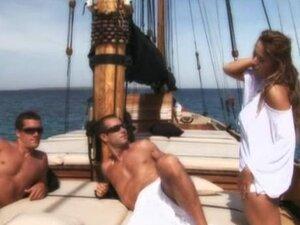 Regina on boat