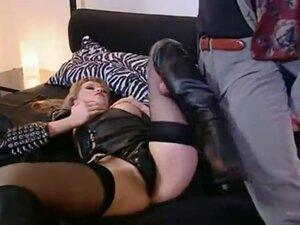 stunning leather lady