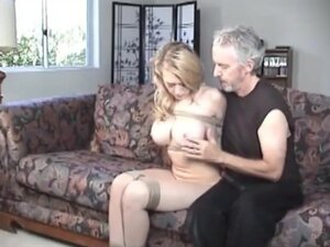 Busty blonde whore kagney linn karter tied and