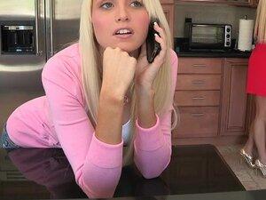 Rikki was waiting for her boyfriend, Logan, to