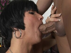 Mature Lady Shay Blows And Rides Dick!, Mature and