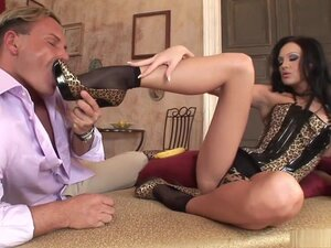 Fabulous pornstar Regina Moon in crazy foot