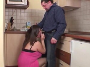 Big natural boobed amateur housewife fucked in her