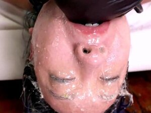 Extreme Facial abuse for asian cutie