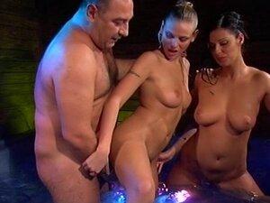 Older men fuck sauna girl