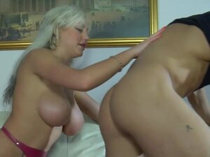 StraponScreen Clip: Monica and Govard, Monica is