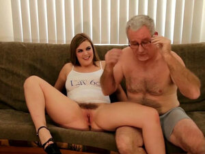 Young Twat Fucks Older Man For The 1st Time