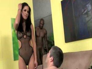 Cuckold lingerie whore black bj