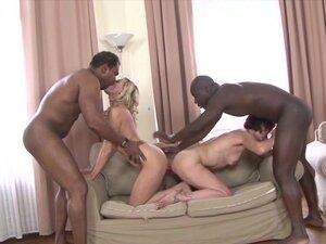 Black men Fuck White Women Deepthroat Swallow Cum