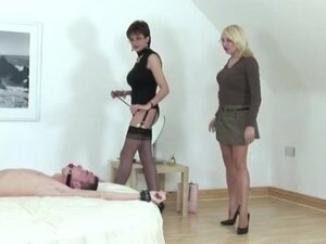 Mistress instructing apprentice on how to rule a