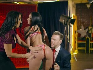 Hot busty babe Anissa Kate takes a heated