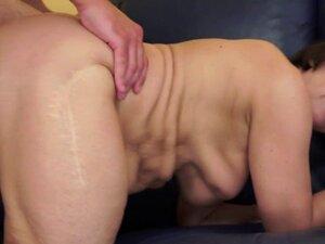 Saggytit grandma pussyfucked passionately