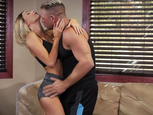 Blonde Teen mistress bangs with neighbors husband