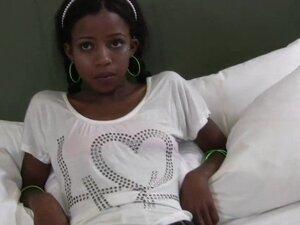 TeenyBlack Schoolgirl ebony Nevaeh interracial