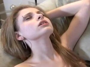 Slim girl is really into having sex in missionary
