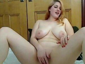 bbw stepsister loves her new vibrator