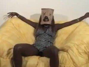 Bag And Gag  black ebony cumshots ebony swallow