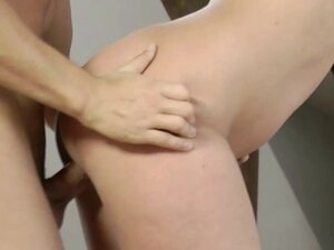 Tied up euro mature fuck from behind
