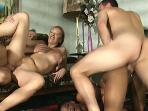 Dirty African sluts get banged in foursome
