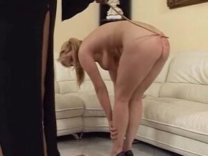 Naughty chick moans loudly while a neighbor