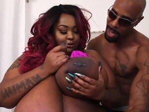 Sexy Ebony Busty Babe Zariah June