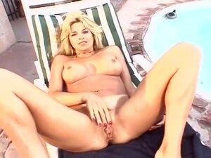 Petite Blonde Fucking Vibrator Ass Plug, Tara is a