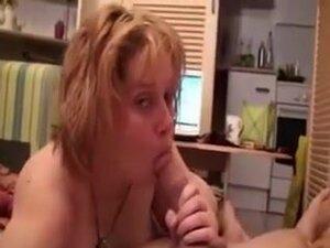 Amateur blonde BBW white wife gives me fantastic