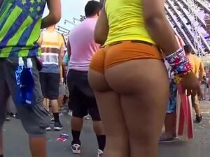 Sexy girl in very tight shorts, Sexy girl in tight