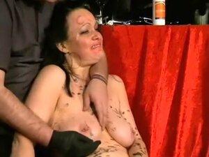 Hottest homemade Piercing, Mature sex clip